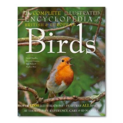 Encyclopedia British & European Birds - 1000 illustraties