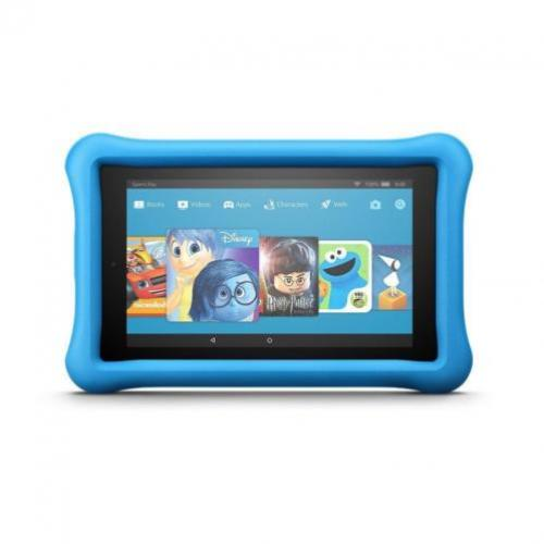 Amazon Fire 7 8GB met wifi, Kids Edition, roze en blauw